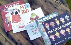 Bookbug book selection