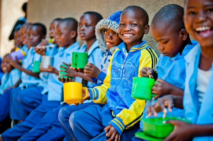 Mary's Meals in Zambia (1)